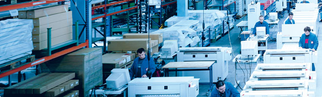 German engineered to tackle your toughest and most delicate printing, scanning and copying needs